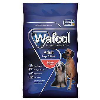 Wafcol vuxen Large/gnt lax & potatis 2,5 kg