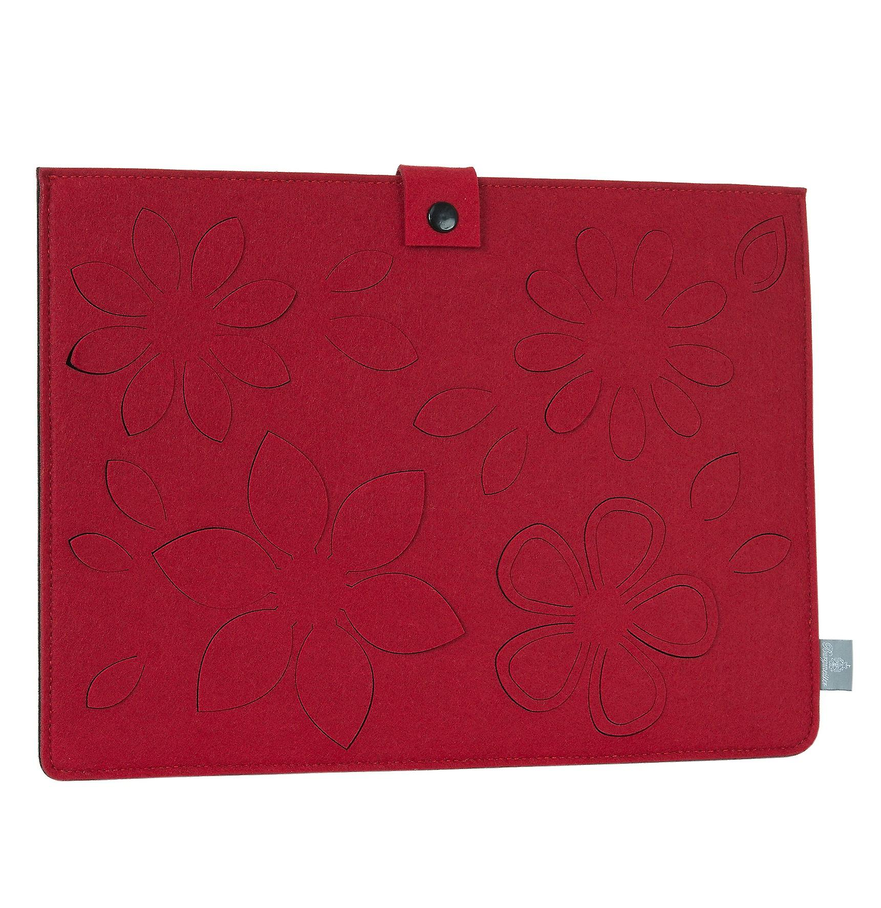 Burgmeister ladies/gents netbook/notebook cover felt, TBM3017-164