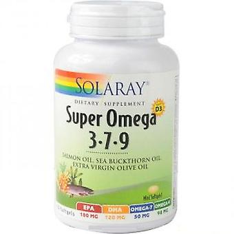Solaray Super Omega 3 7 9 120 Pearls