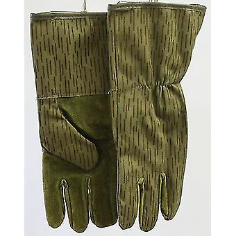 Genuine German Nva Rain Pattern Strichtarn Gloves