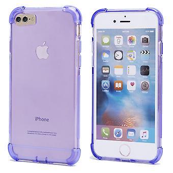 32nd tuffa Gel case + penna för Apple iPhone 7 / iPhone 8 - lila
