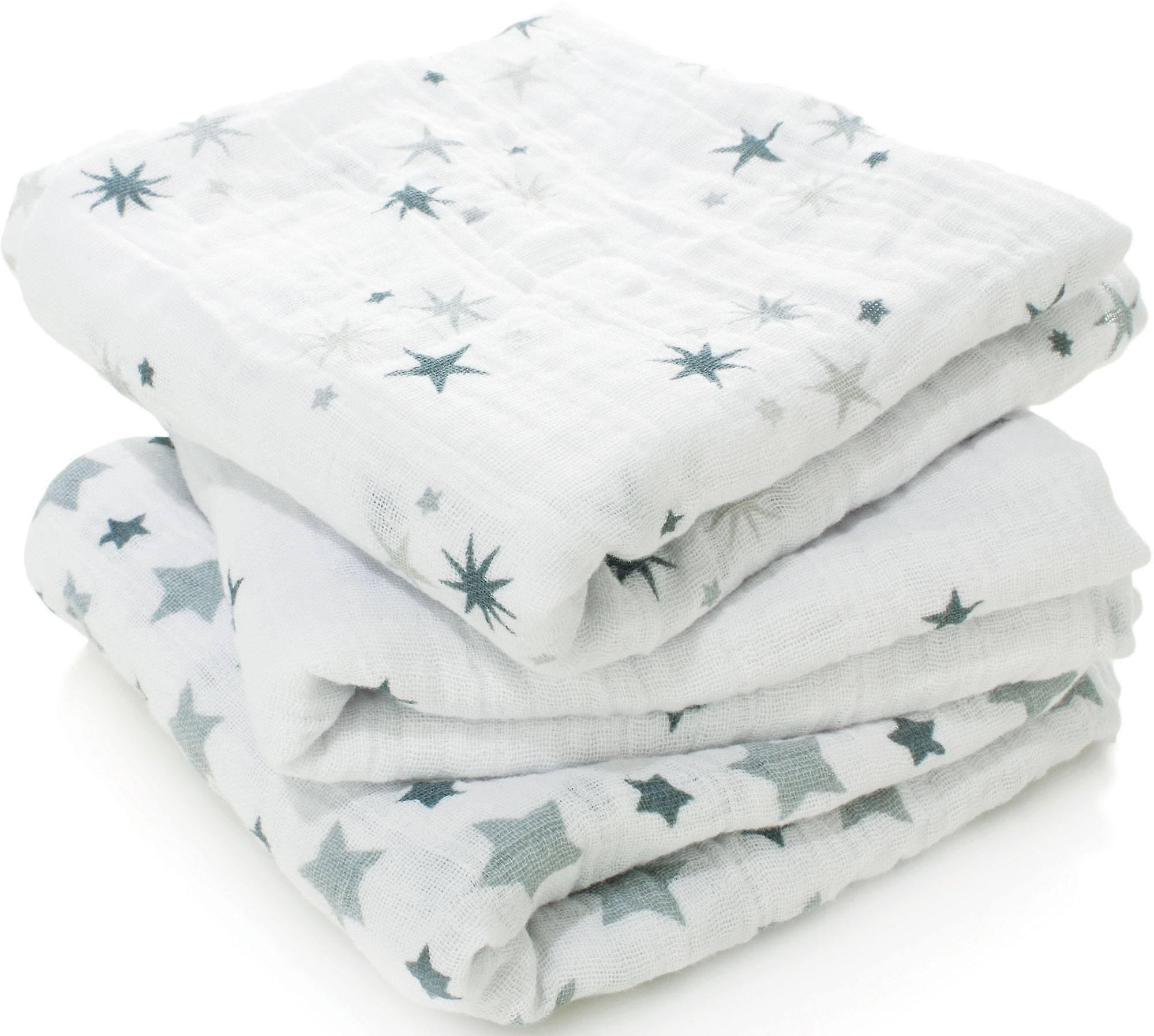Aden + Anais Musy Muslin Squares - 3 Pack - Twinkle