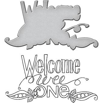 Spellbinders Stamp & Die Set By Tammy Tutterow-Welcome Wee One SDS033