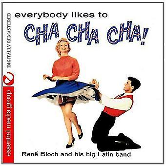 Rene Bloch & son Big Latin Band - tout le monde aime Cha Cha Cha! [CD] USA import
