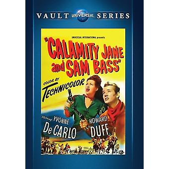 Calamity Jane & Sam Bass [DVD] USA import