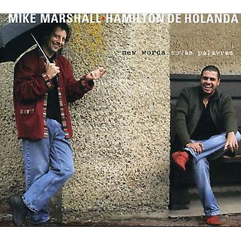Mike Marshall & Hamilton De Holanda - nye ord (Novas ord) [CD] USA importerer