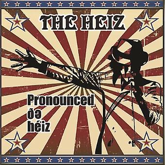 Heiz - Pronounced De Heiz [Vinyl] USA import