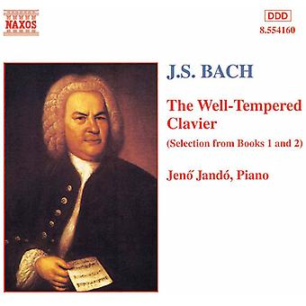 J.S. Bach - Bach: The Well-Tempered Clavier (Selections From Books 1 & 2) [CD] USA import