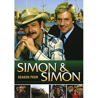 Simon & Simon: Säsong fyra [DVD] USA import