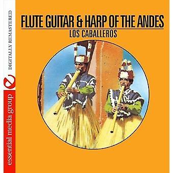 Los Caballeros - flöjt gitarr & harpa av Anderna [CD] USA import