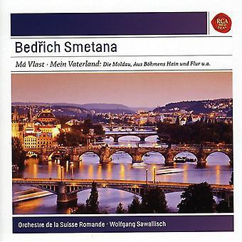 Wolfgang Sawallisch - Smetana: Importación de Estados Unidos Mein Vaterland [CD]