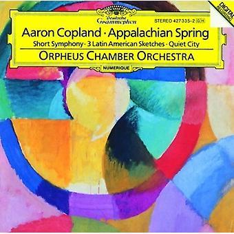 Copland / Orpheus - Appalachian Spring [CD] USA import
