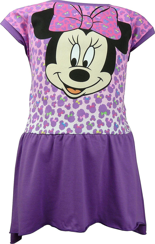 Girls Disney Minnie Mouse Short Sleeve Dress