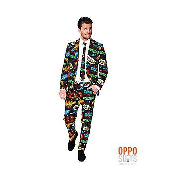 Badaboom comic suit stained Opposuit slimline Premium 3-piece set