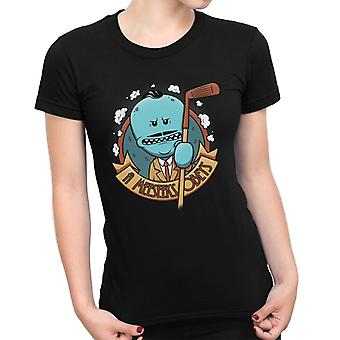 A Meeseeks Obeys Bishock Rick And Morty Women's T-Shirt