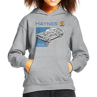 Haynes Owners Workshop Manual 0295 MK2 Ford Cortina Kid's Hooded Sweatshirt
