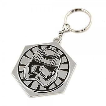 Star Wars Star Wars Episode VII The Force Awakens Captain Phasma Metal Keyring