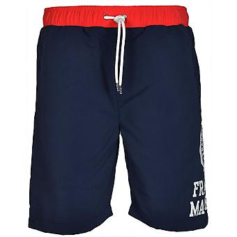 Franklin & Marshall Ua933 Navy Swim Shorts