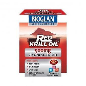 Bioglan - røde krillolie 500mg 30 kapsel