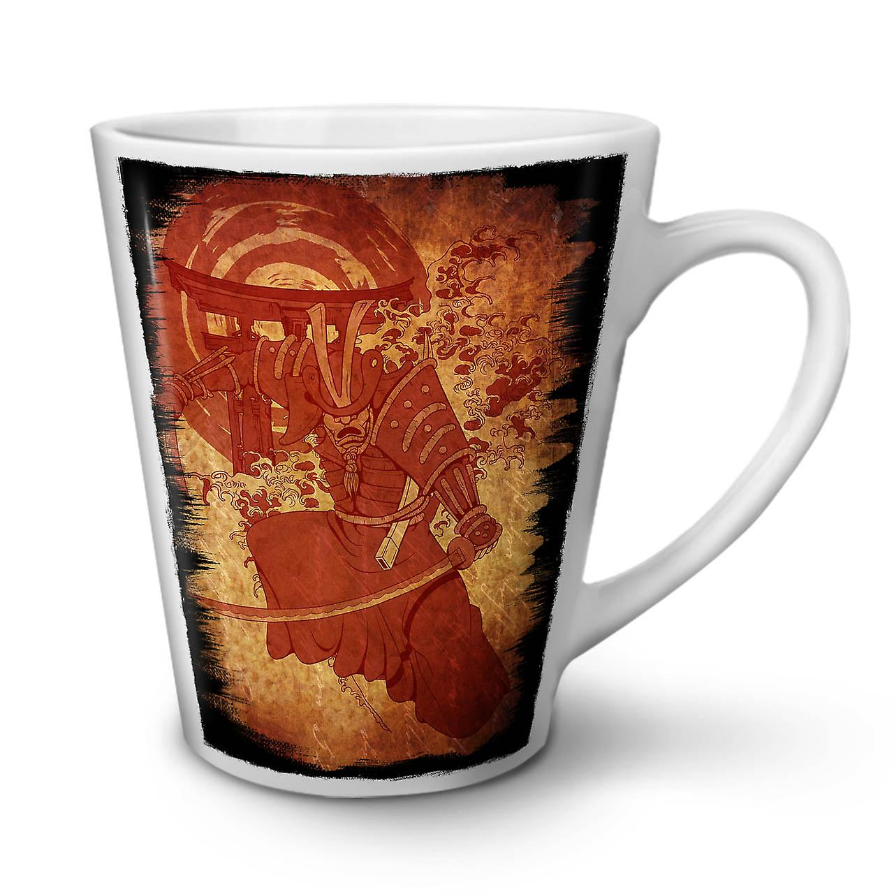 Vintage Blanche Tasse Céramique Fantasy Nouvelle Café Latte 12 Warrior OzWellcoda En OukPXZi
