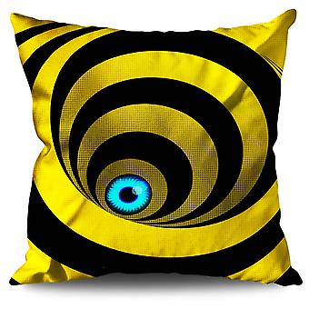 Eye Spiral Cool Linen Cushion Eye Spiral Cool | Wellcoda