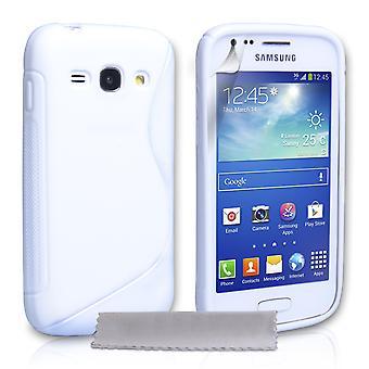 Caseflex Samsung Galaxy Ace 3 Silicone Gel S-Line Case - White