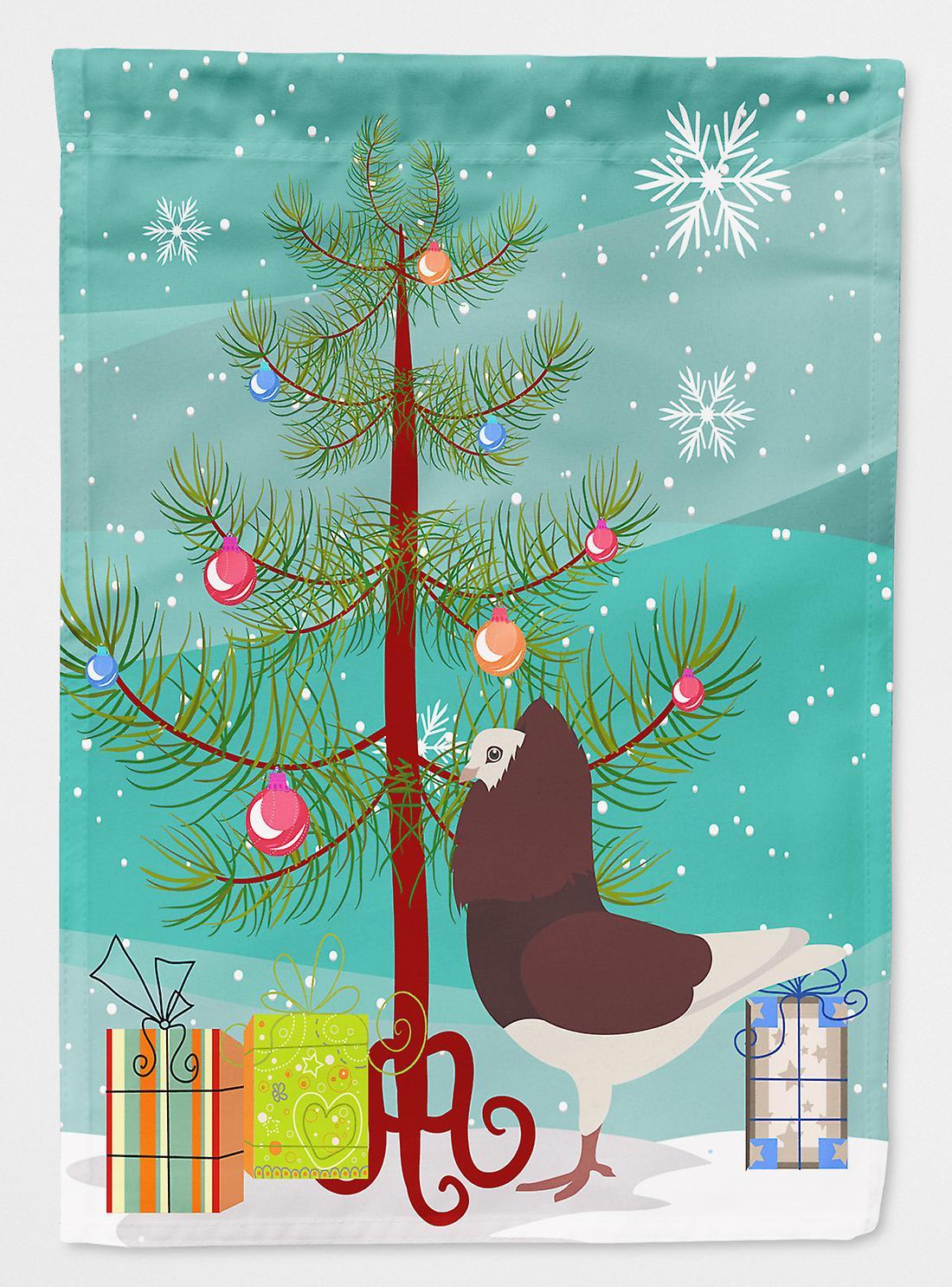 Capucins Pigeon rouge Noël drapeau Taille maison du canevas