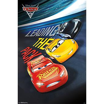 Cars 3 - Group Poster Print
