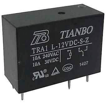 PCB relays 12 Vdc 12 A 1 change-over Tianbo Electronics