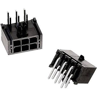 Würth Elektronik 66200421022 Built-in receptacles (standard) WR-MPC3 Total number of pins 4 Contact spacing: 3 mm 1 pc(s