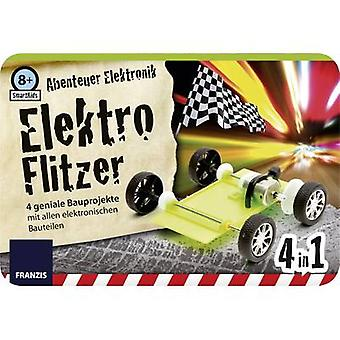 Assembly kit Franzis Verlag SmartKids Abenteuer Elektronik Elektro Flitzer 978-3-645-65216-2 8 years and over