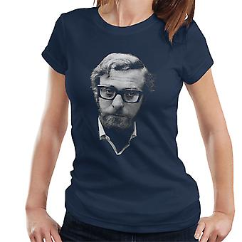Michael Caine Black Frames 1969 Women's T-Shirt