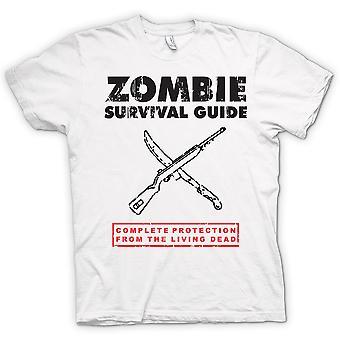 Camiseta para hombre - muerto de viviente de supervivencia Zombie - gracioso