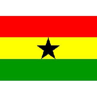 Ghana Flagge 5 x 3 ft mit Ösen für hängende