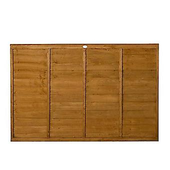 Forest Garden Premier 4ft Traditional Wooden Fence Panel