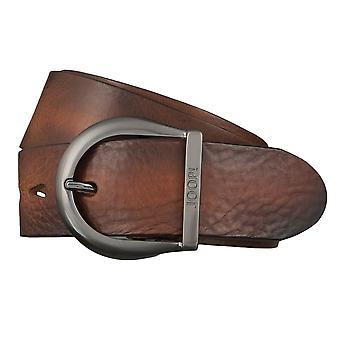 JOOP! Belts men's belts leather jeans belt Cognac 4399