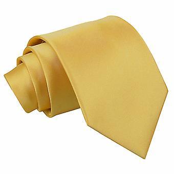 Gold-Plain Satin klassischen Krawatte