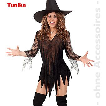 Witches tunic costume sorceress Lady costume spider Lady Cobweb dress