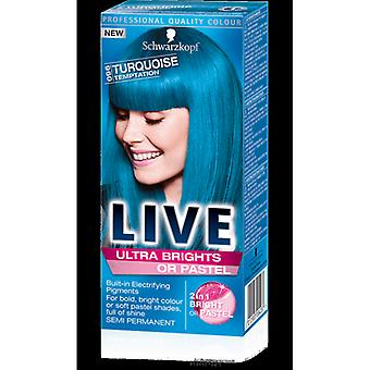 Schwarzkopf LIVE Ultra Brights Or Pastel  - Turquoise Temptation 096