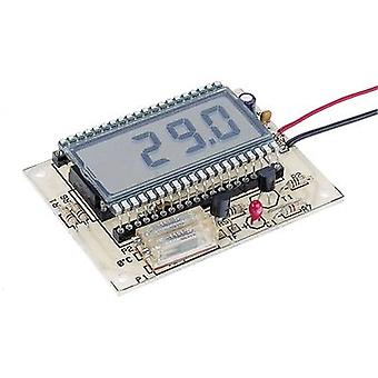 LCD thermometer Assembly kit Conrad Components 115452 9 Vdc, 12 Vdc -50 up to 150 °C