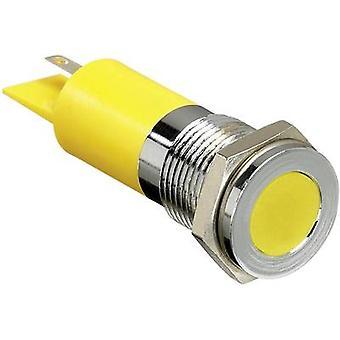 APEM LED-lampan rött 230 V AC F14 F1 CXXR220E