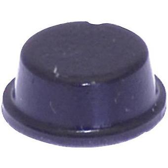 TOOLCRAFT PD2104SW pied auto-adhésif, circulaire noir (Ø x H) 10 mm x 4 mm, 1 PC (s)