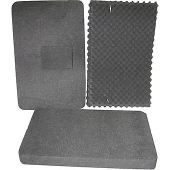 Foam insert 6-piece Alutec 36047 (L x W) 555 mm x