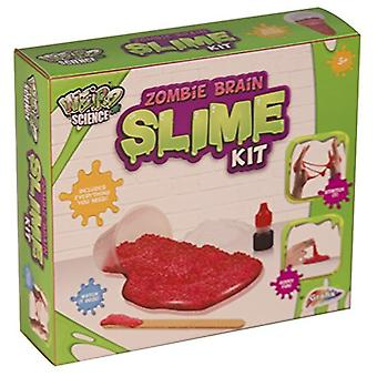 Weird Science Zombie Brain Slime Making Kit Kids Make Your Own Ooze Set Goo Lab