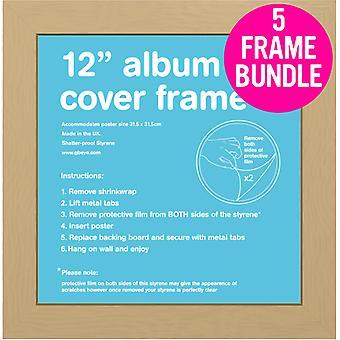 GB-Poster 5 Eiche Album MDF Poster Rahmen 12