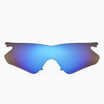 M Frame Heater Polarized Lenses Accessories Kit Blue Yellow by SEEK fits OAKLEY