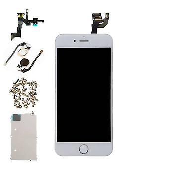 """Stuff Certified® iPhone 6 4.7 """"Front monterad Display (LCD + Touch Screen + delar) A + kvalitet - vit"""