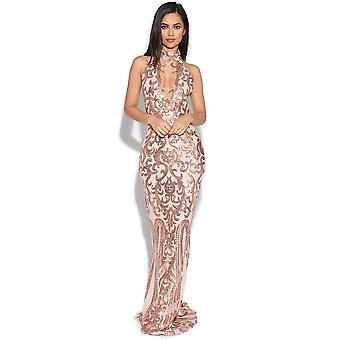 Luxe Keyhole buste verfraaid Gown