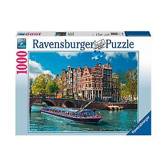 Canais de Ravensburg turnê Puzzle 1000 peças
