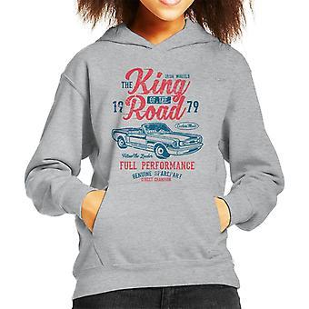 King Of The Road Convertible Kid's Hooded Sweatshirt